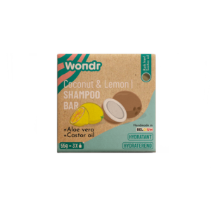 Wondr Shampoo bar - Crazy in the Coconut