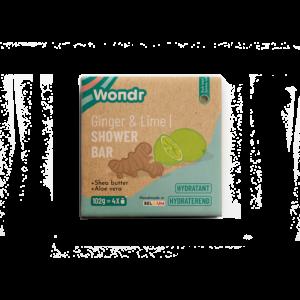 Wondr Shower Bar - Energizing Lime & Ginger