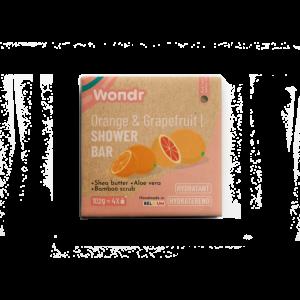 Wondr Shower Bar - Orange & Grapefruit