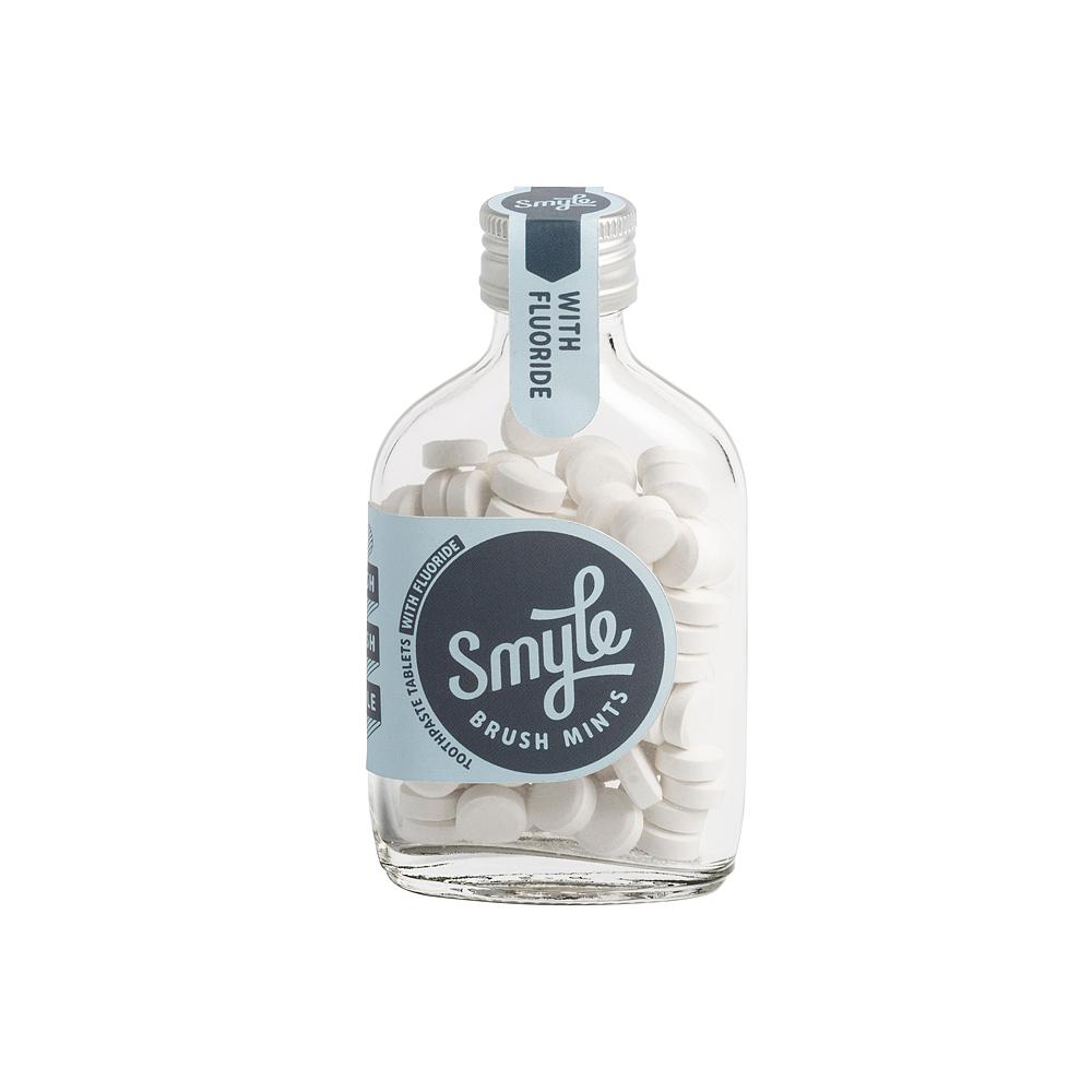 Smyle Bottle - 65 tandpastatabletten met fluoride