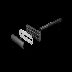 Bambaw metalen scheermes zonder sokkel zwart_2