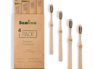 Bamboe tandenborstels 4- pack medium_2