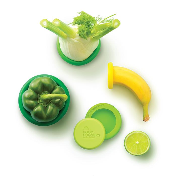 Food Huggers set of 5 Fresh Greens_4