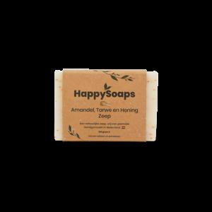 Happy handzeep Amandel, tarwe en honing_voorkant