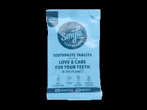Smyle refill tandpastatabletten met fluoride_voorkant