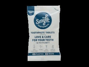 Smyle refill tandpastatabletten zonder fluoride_voorkant