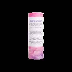We love the planet deostick lovely lavender achterkant